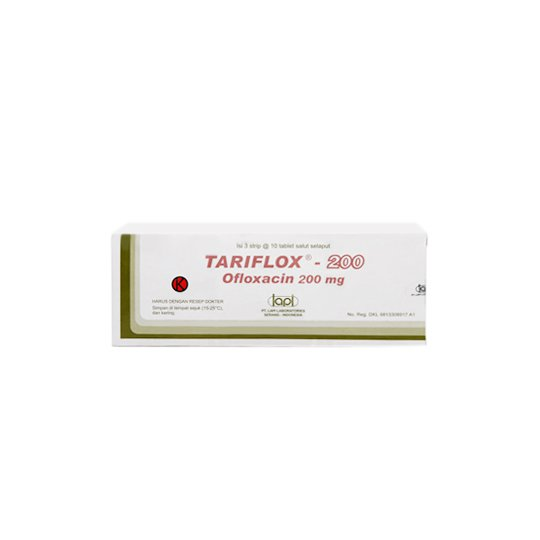 TARIFLOX 200 MG 10 TABLET