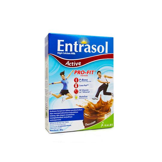 ENTRASOL ACTIVE CHOCOLATE 360 GR