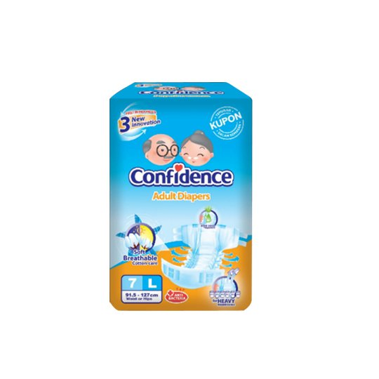 CONFIDENCE ADULT DIAPERS L 7 PIECES