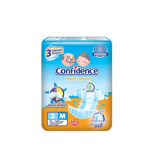 CONFIDENCE ADULT DIAPERS M 3 PIECES