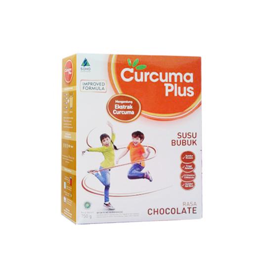 SUSU CURCUMA PLUS RASA COKELAT 750 GR