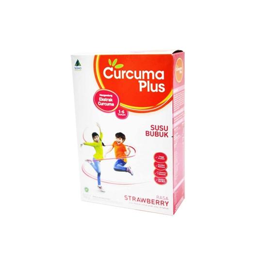 SUSU CURCUMA PLUS RASA STRAWBERRY 750 GR