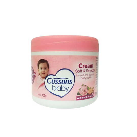 CUSSONS BABY CREAM SOFT & SMOOTH 100 GR
