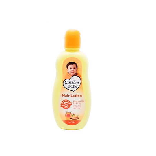 CUSSONS BABY HAIR LOTION ALMOND OIL & HONEY 100 ML