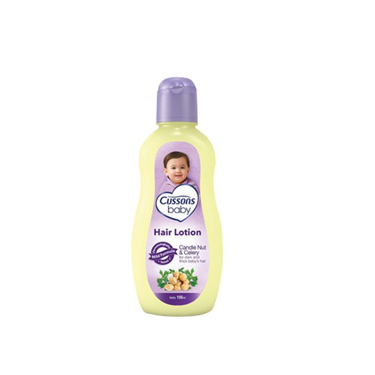 CUSSONS BABY HAIR LOTION CANDLE NUT & CELERY 100 ML