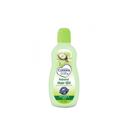 Cussons Baby Natural Hair Oil Coco 100 ml