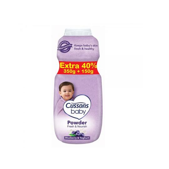 CUSSONS BABY POWDER FRESH & NOURISH 350 GR + 150 GR
