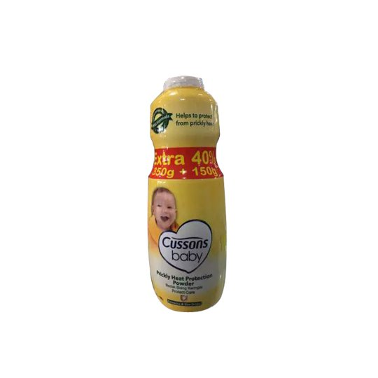 CUSSONS BABY POWDER PRICKLY HEAT PROTECTION 350 G