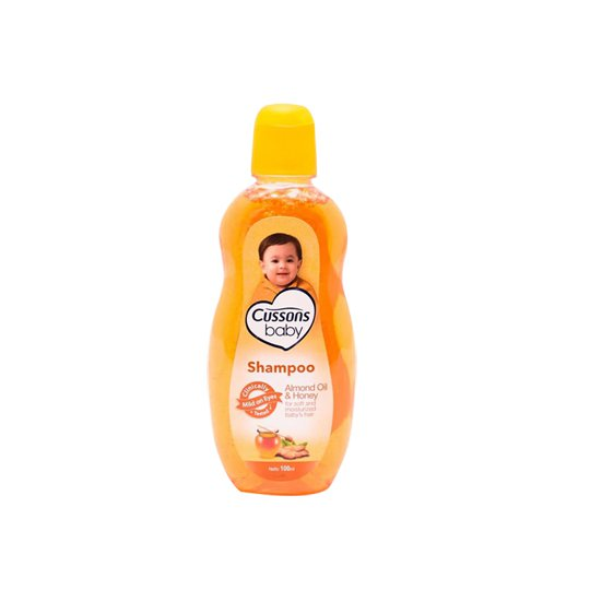 CUSSONS BABY SHAMPOO ALMOND OIL & HONEY 100 ML