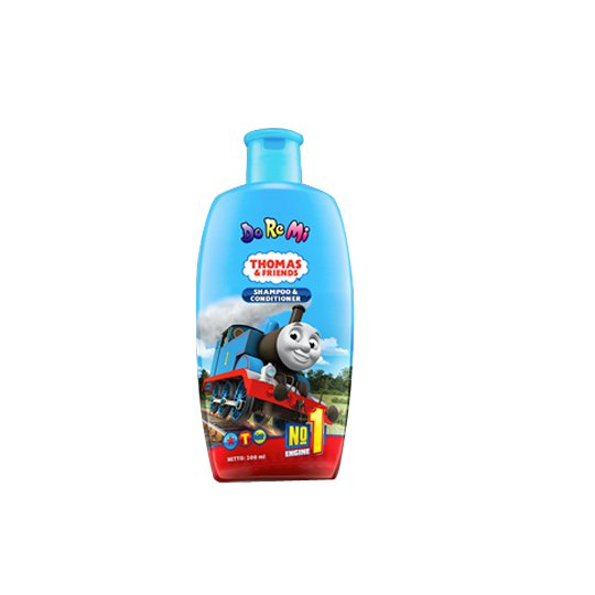 DO RE MI SHAMPOO 200 ML BIRU