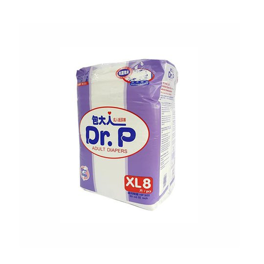 DR P ADULT DIAPERS BASIC XL 8