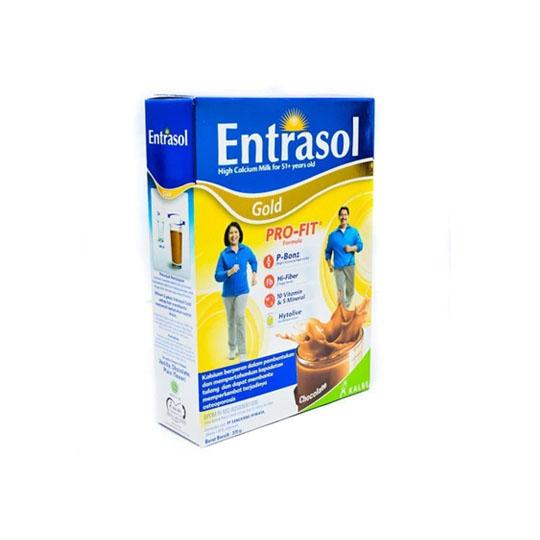 ENTRASOL GOLD COKLAT 370 GR