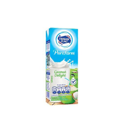 FRISIAN FLAG UHT PUREFARM COCONUT DELIGHT 225 ML