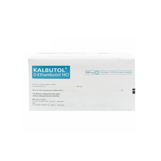 KALBUTOL 500 MG 10 TABLET