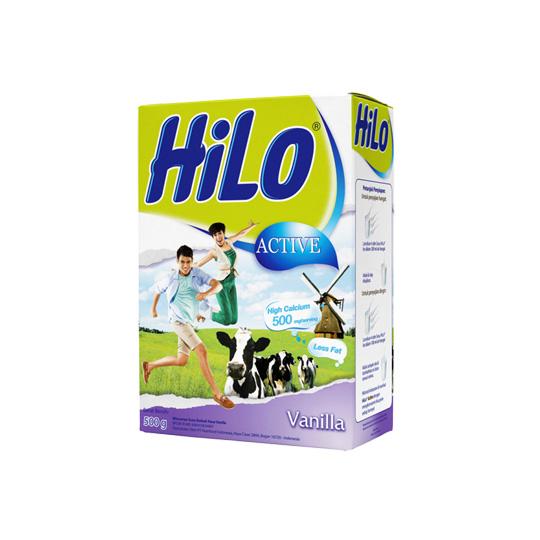 HILO ACTIVE VANILA 500 GR