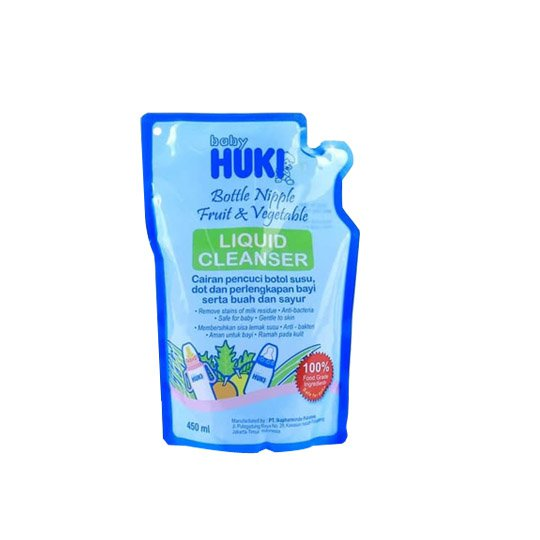 BABY HUKI LIQUID CLEANSER 450 ML