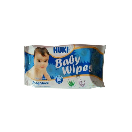 BABY HUKI WIPES 50 PIECES