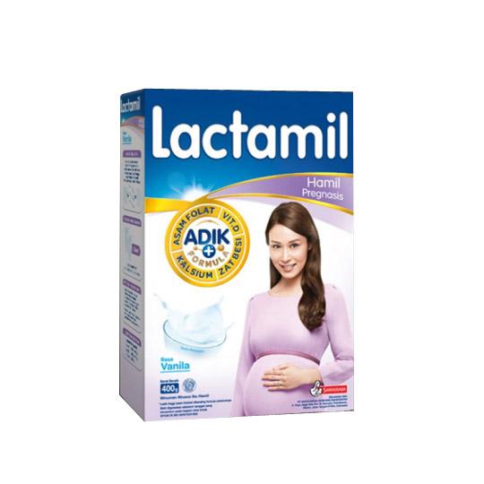 LACTAMIL PREGNASIS RASA VANILA 400 GR