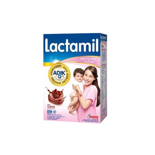 LACTAMIL LACTASIS COKLAT 400 GR