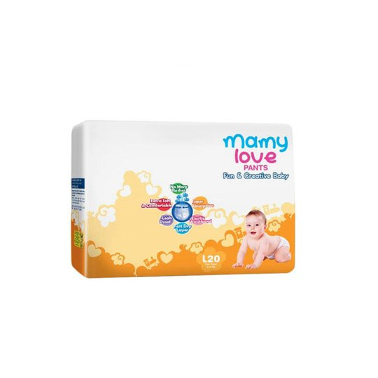 MAMY LOVE PANTS L 20 PIECES