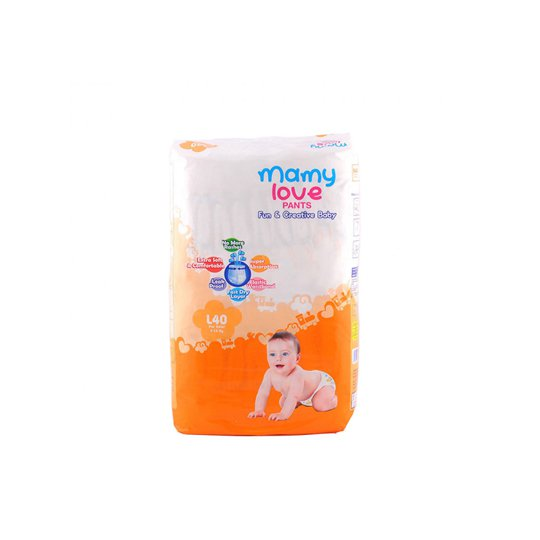 MAMY LOVE PANTS L 40 PIECES