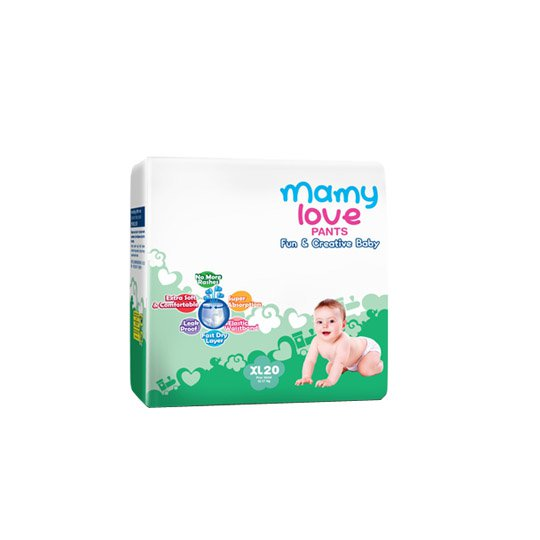 MAMY LOVE PANTS XL 20 PIECES