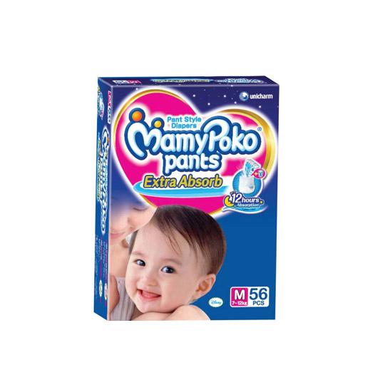 MAMY POKO EXTRA DRY M 56 PIECES