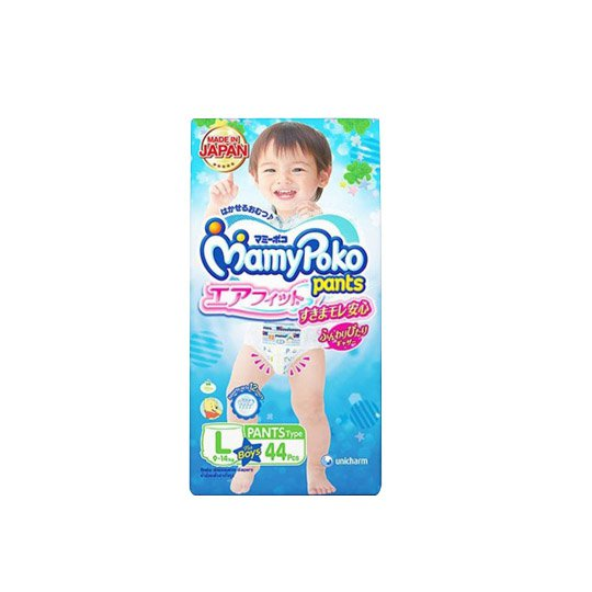MAMY POKO PANTS AIR FIT BOYS L 44 PIECES