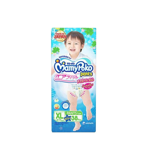 MAMY POKO PANTS AIR FIT BOYS XL 38 PIECES