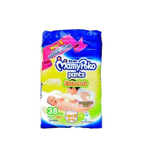 MAMY POKO PANTS EXTRA SOFT MINI S 38 PIECES