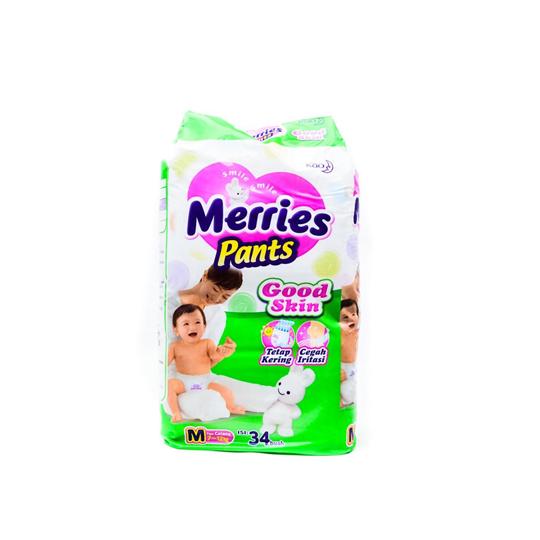 MERRIES PANTS GOOD SKIN M 34 PIECES