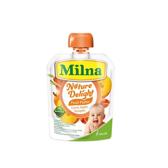 MILNA NATURE DELIGHT CARROT,APPLE & PUMPKIN 80 G