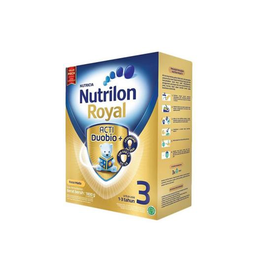 NUTRILON ROYAL ACTI DUOBIO 3 RASA MADU 1800 GR