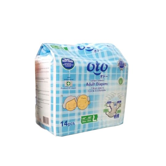 OTO ADULT DIAPERS L 14 PIECES