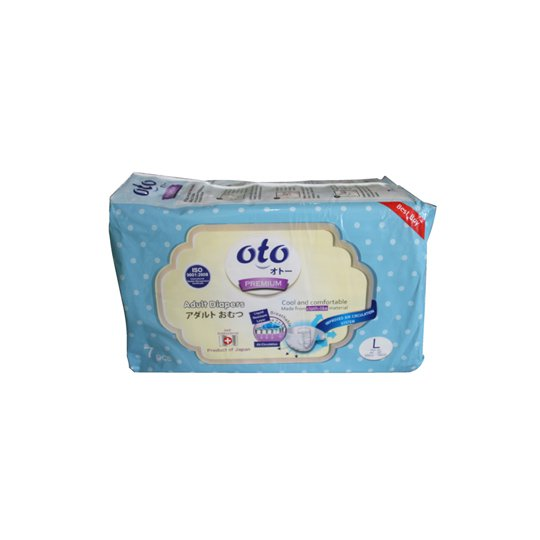 OTO PREMIUM ADULT DIAPERS L 7 PIECES