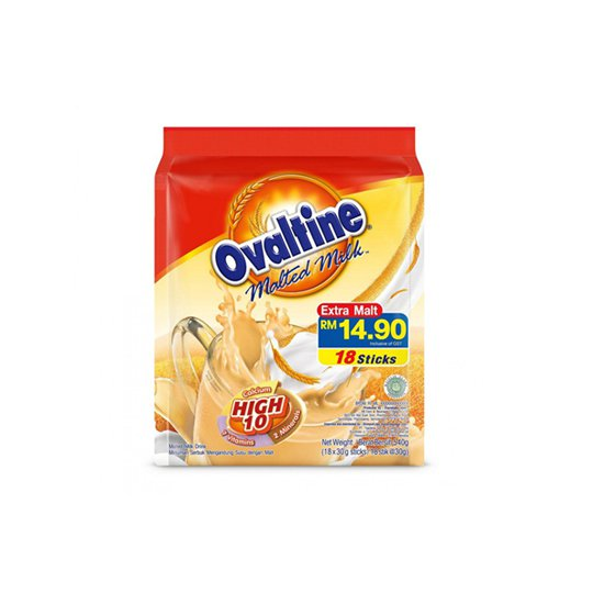 OVALTINE 3 IN 1 18 PIECES