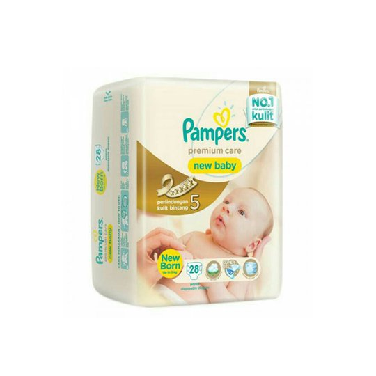 PAMPERS PREMIUM CARE NEW BABY NEW BORN 28 PIECES