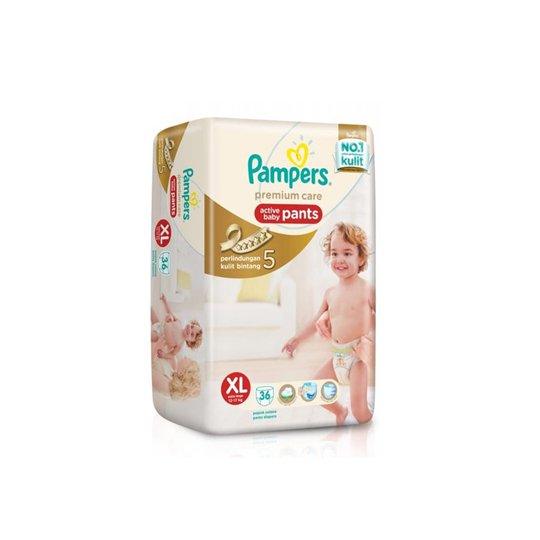 PAMPERS PREMIUM CARE PANTS XL 36 PIECES