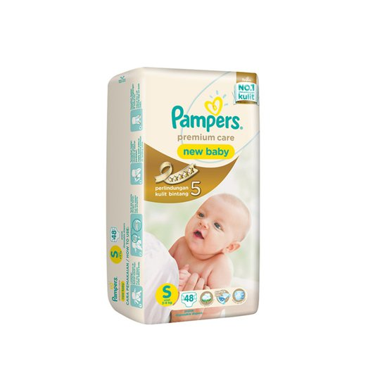 PAMPERS PREMIUM CARE S 48 PIECES