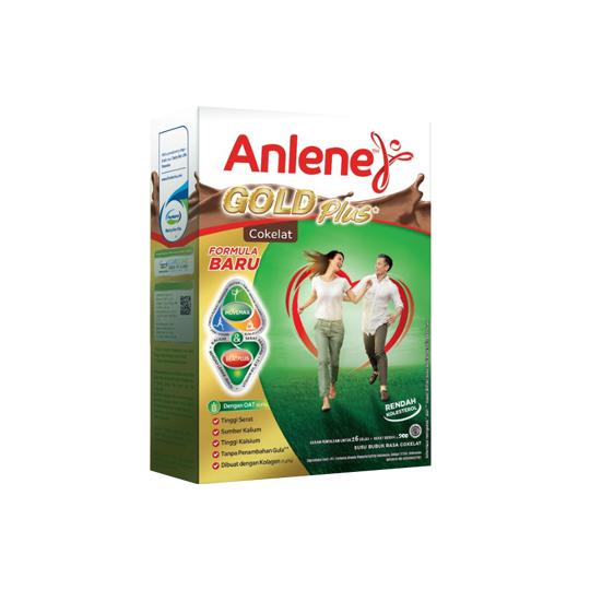 ANLENE GOLD PLUS RASA COKELAT 900 G