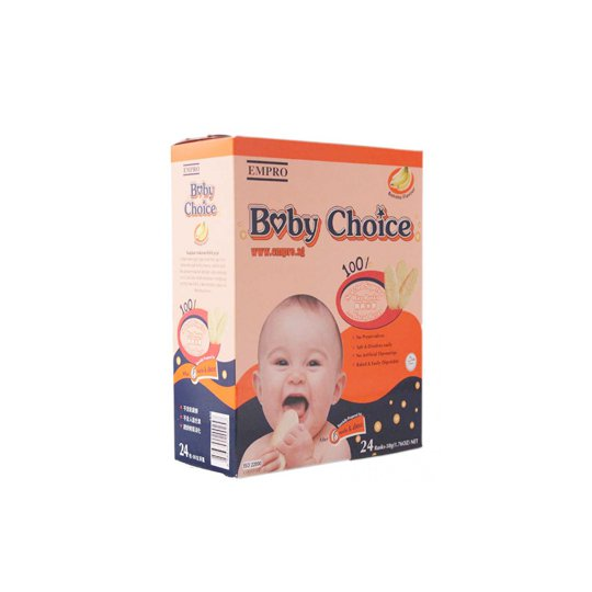BABY CHOICE BANANA 50 GR
