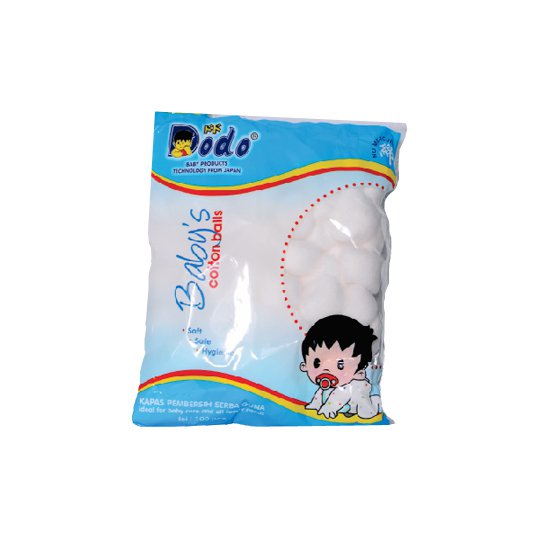 DODO COTTON BALLS 100 PIECES