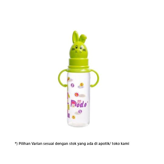 DODO BOTOL RABBIT WITH HANDLE 8 OZ 250 ML
