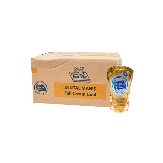 FRISIAN FLAG KENTAL MANIS GOLD 220 GR 24 POUCH