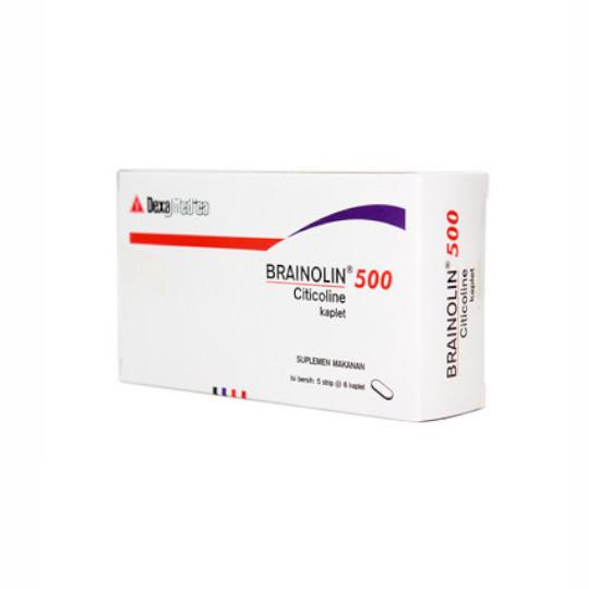 BRAINOLIN 500 MG 6 KAPLET