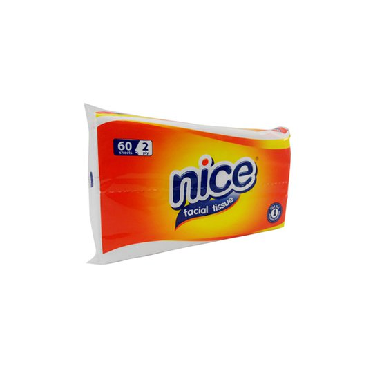 NICE TISUE TRAVEL PACK 60 PIECES
