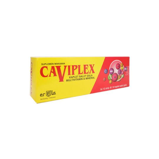 CAVIPLEX 100 KAPLET - PALING HEMAT
