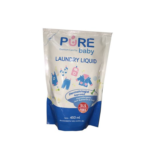 PURE BABY LAUNDRY LIQUID 450 ML