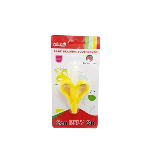 RELIABLE BANANA BABY TRAINING TOOTHBRUSH