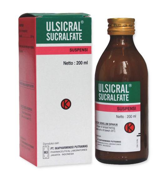 ULSICRAL SIRUP 200 ML